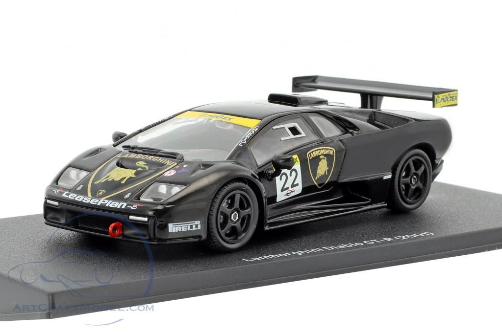 Lamborghini Diablo Gt R 22 Black Mag Jt06