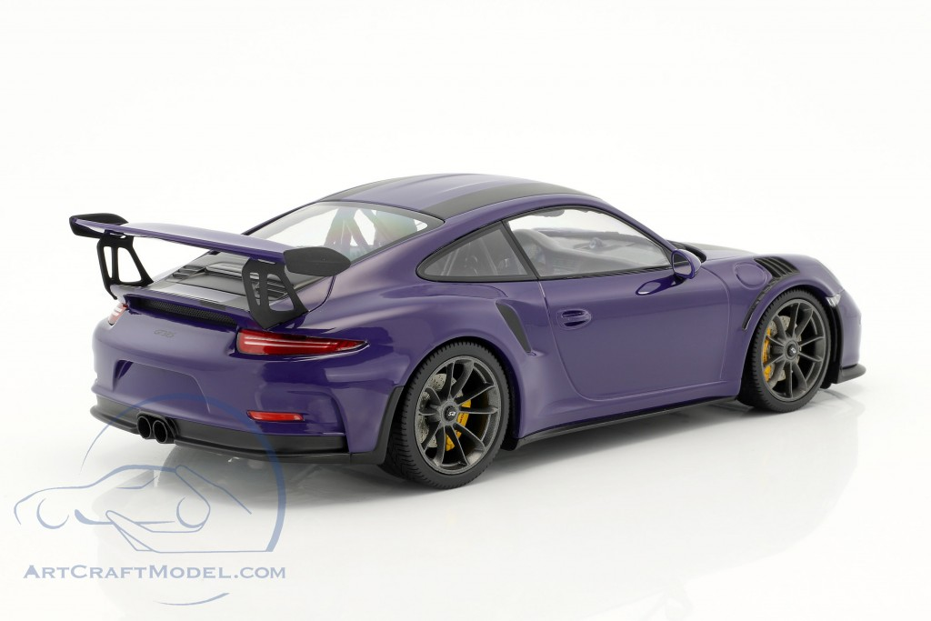 Porsche 911 (991) GT3 RS Construction year 2015 ultraviolet with black  stripes