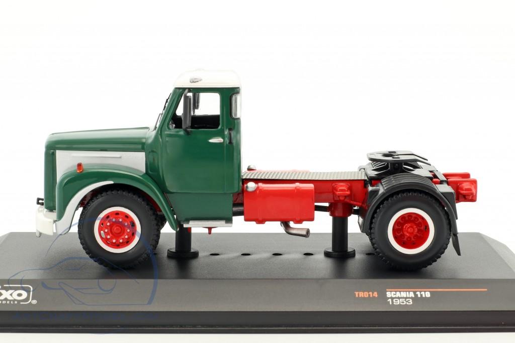 Scania 110 Super 1953-1:43 IXO   *NEU* blau//weiss