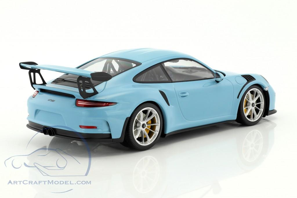 porsche 911 991 gt3 rs baujahr 2015 gulf blau mit matt. Black Bedroom Furniture Sets. Home Design Ideas