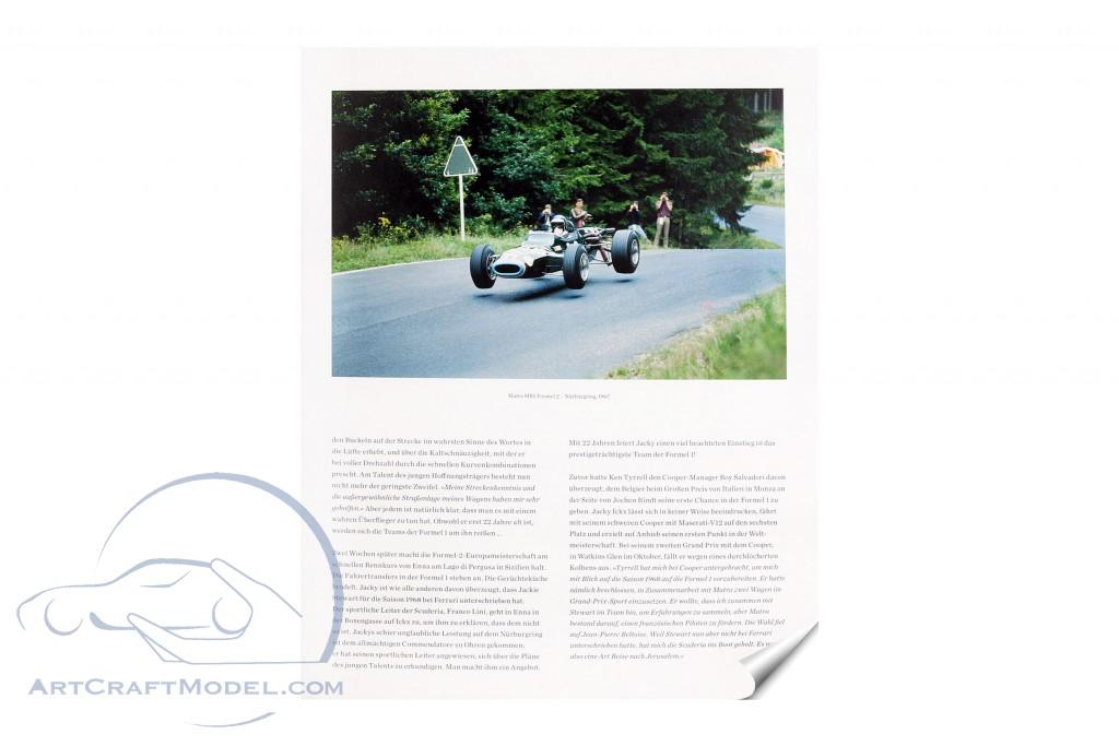 Buch: Jacky Ickx - Die autorisierte Biographie von P. van Vliet Delius Klasing