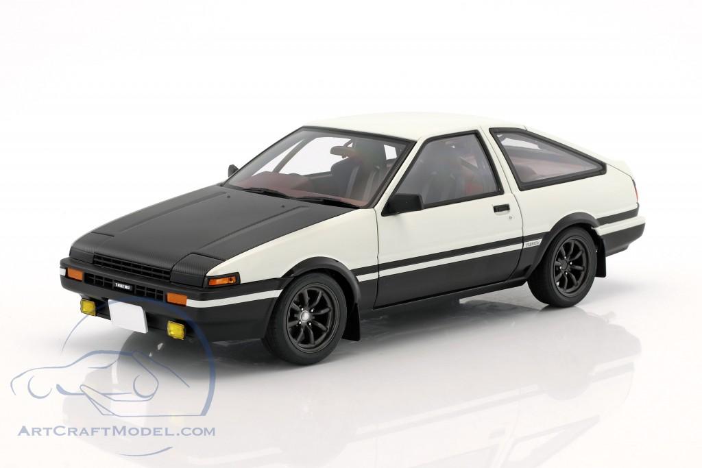 Great ... Toyota Sprinter Trueno (AE86) Project D Final Version White / Black ...