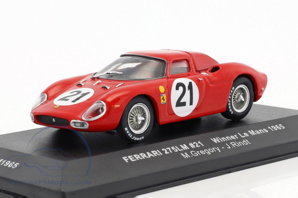 Ferrari 275 LM #21 Gregory, Rindt Winner 24h LeMans 1965