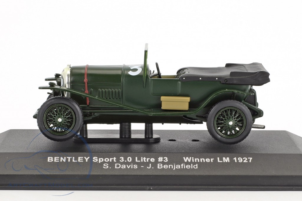 Bentley Sport 3.0 Litre #3 Winner 24h LeMans 1927 Davis, Benjafield