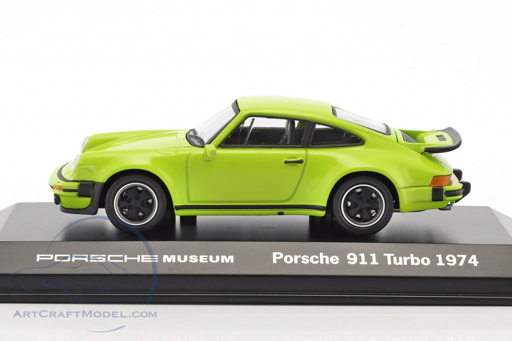 Porsche 911 Turbo year 1974 lime