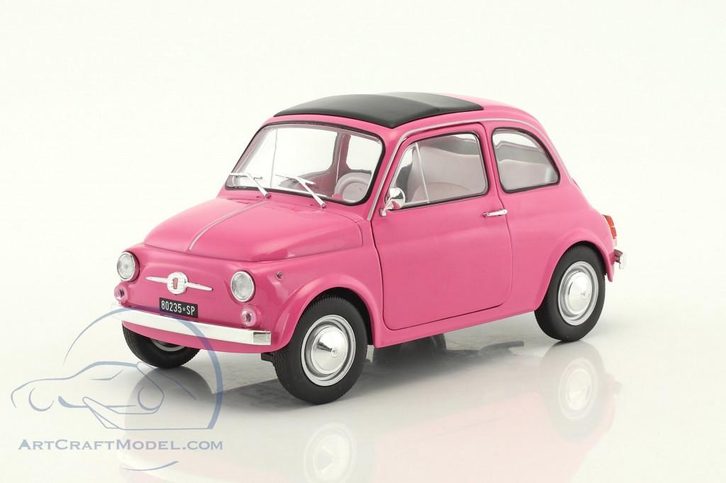 Fiat 500 L Italia Year 1969 Pink S1801402 Ean 3663506002304