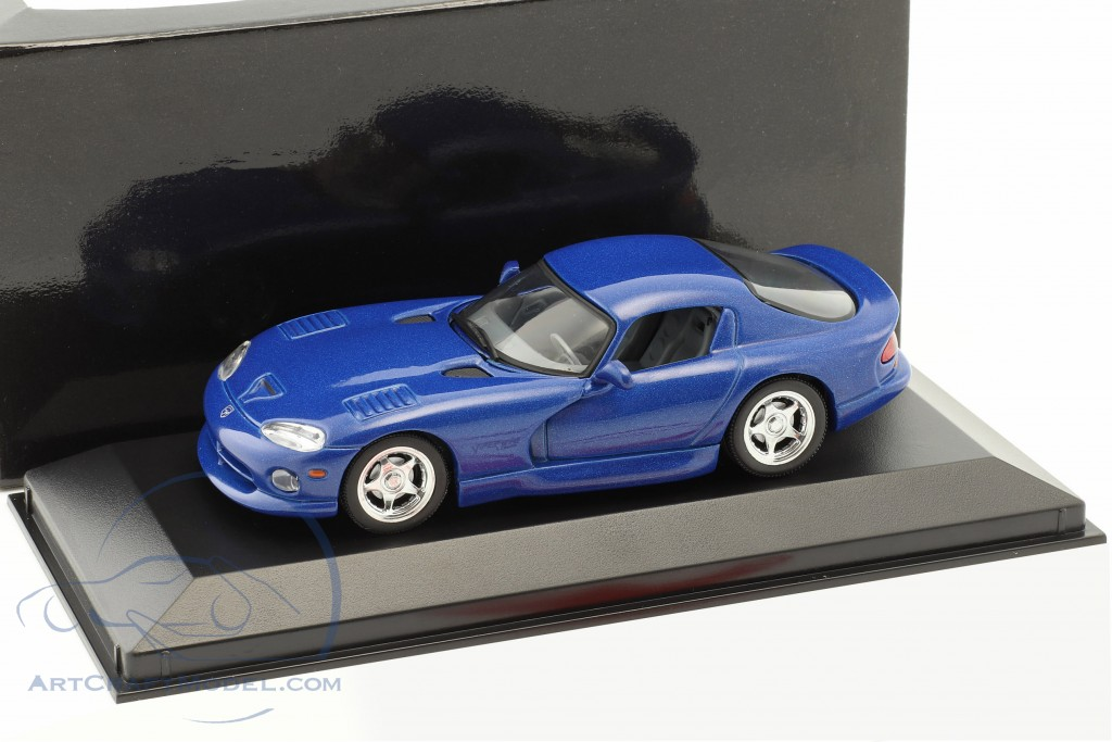 Dodge Viper Coupe year 1993 blue