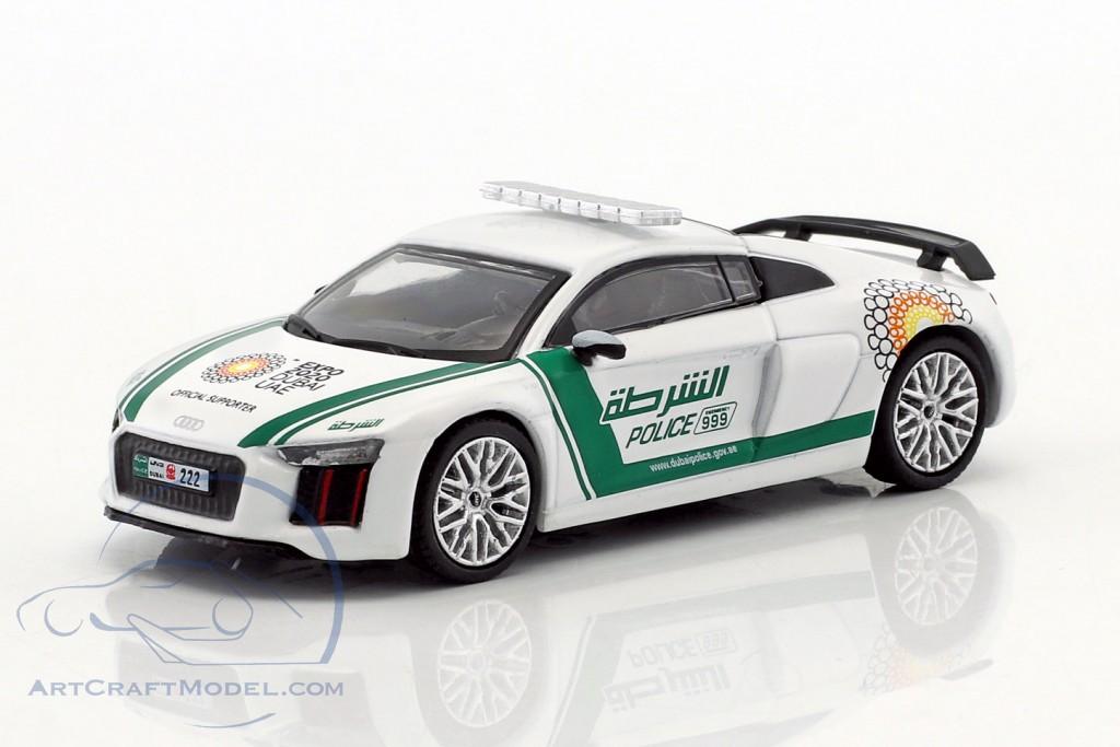 Audi R8 V10 Plus Dubai Police
