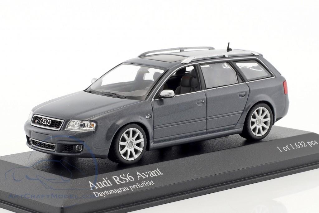 Audi Rs6 Avant Year 2002 Daytona Gray Perleffekt 400011711 Ean