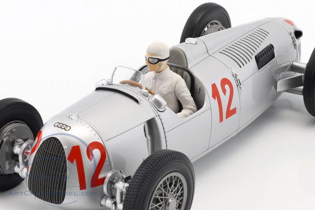 Auto Union Typ C #12 H Stuck GP Budapest Formel 1 1936 1:18 Minichamps