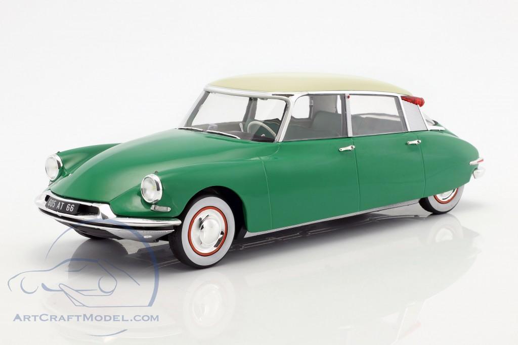 Citroen Ds 19 Year 1956 Green 181480 Ean 3551091814801