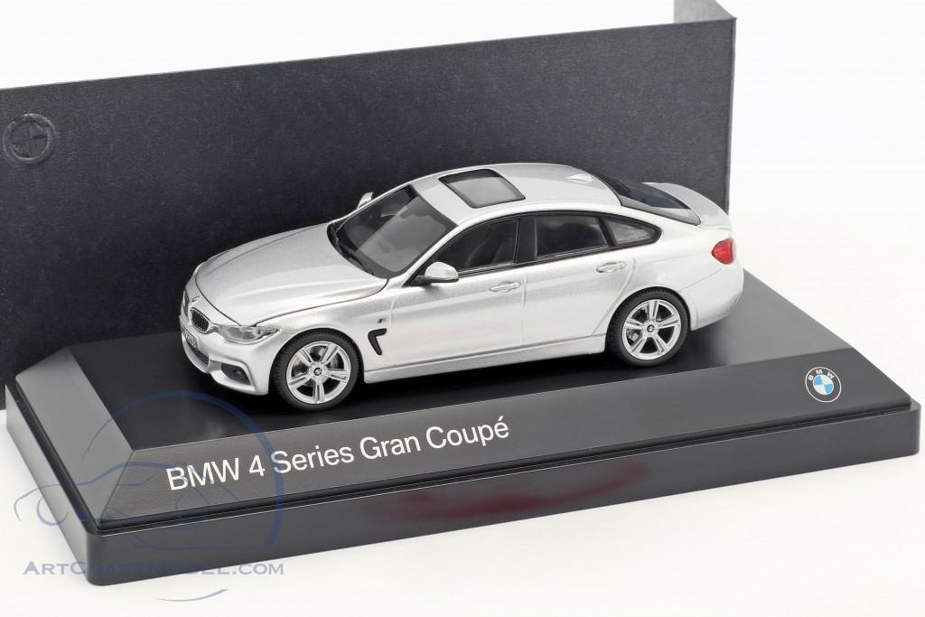 BMW 4er 4 Series (F36) Gran Coupe silver