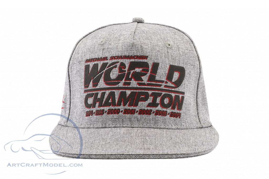 Michael Schumacher Cap Racing / Formel 1 World Champion 1994, 1995, 2000, 2001, 2002, 2003, 2004