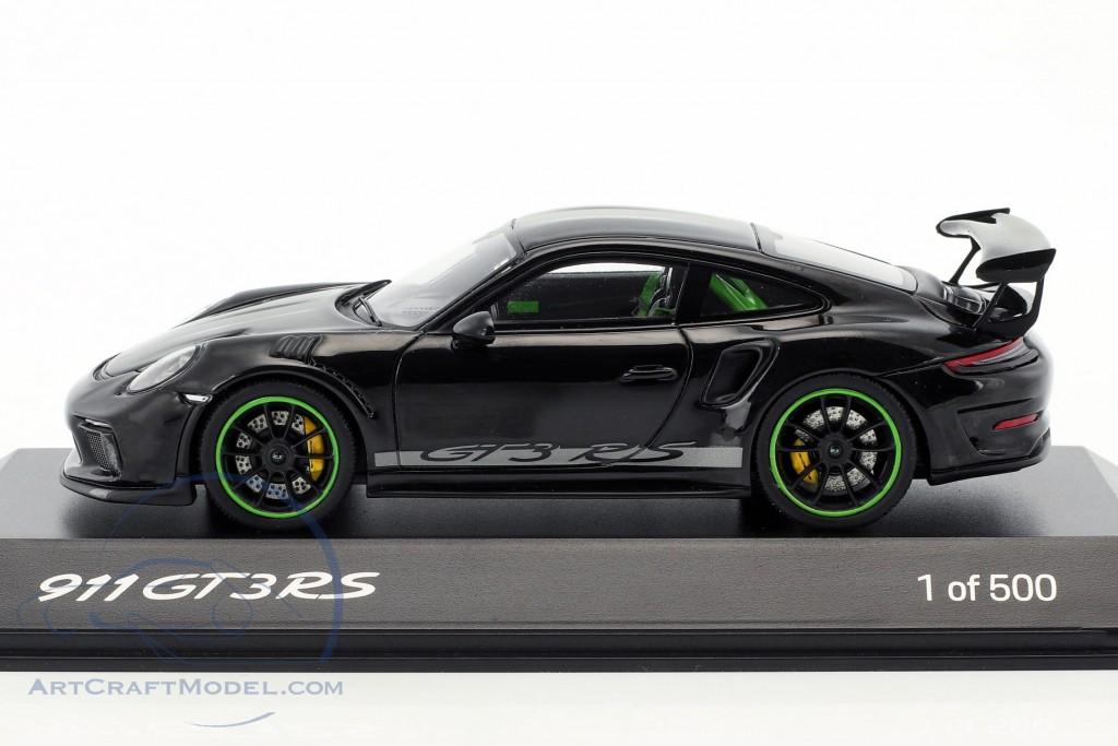 Porsche 911 (991) GT3 RS Weissach Package year 2018 black