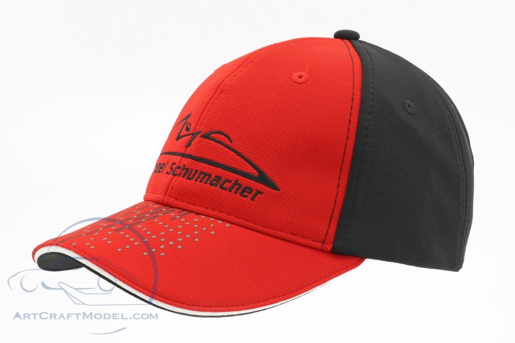 Michael Schumacher Cap Speedline rot / schwarz