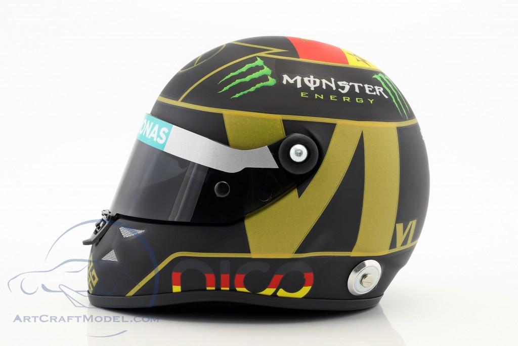 N. Rosberg Mercedes F1 W05 Formula 1 2014 Helmet 4. Star Edt.
