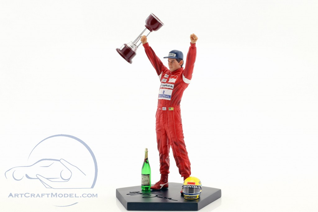 Ayrton Senna Figur Winner Japan GP World Champion Formel 1 1988