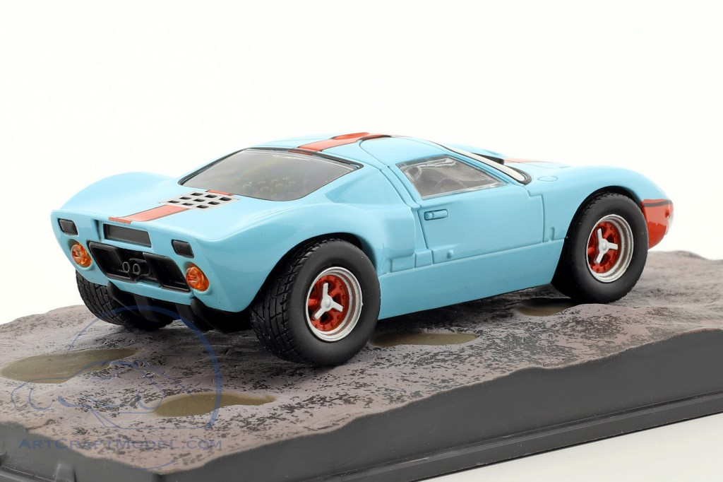 Ford GT40 Car James Bond movie Die Another Day light blue