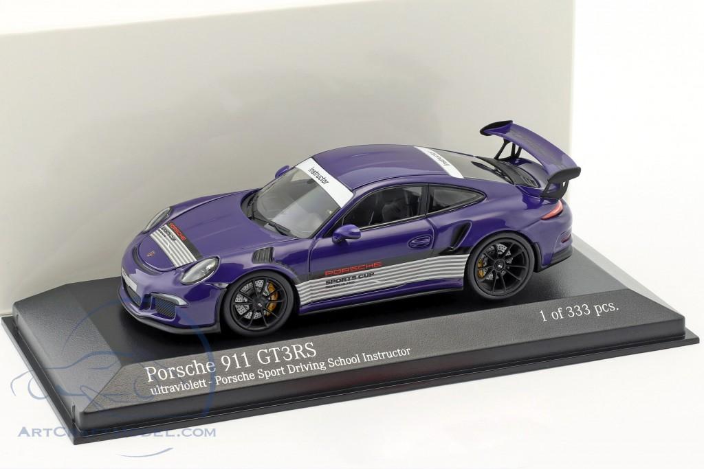 Porsche 911 (991) GT3 RS Porsche Sports Driving School Instructor  ultraviolet