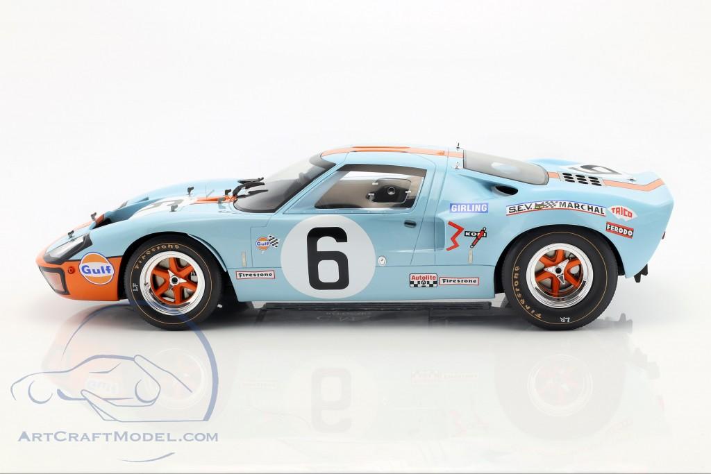 CMR12002 WINNER LE MANS 1969 FORD GT 40 MK I GULF CMR 1//12