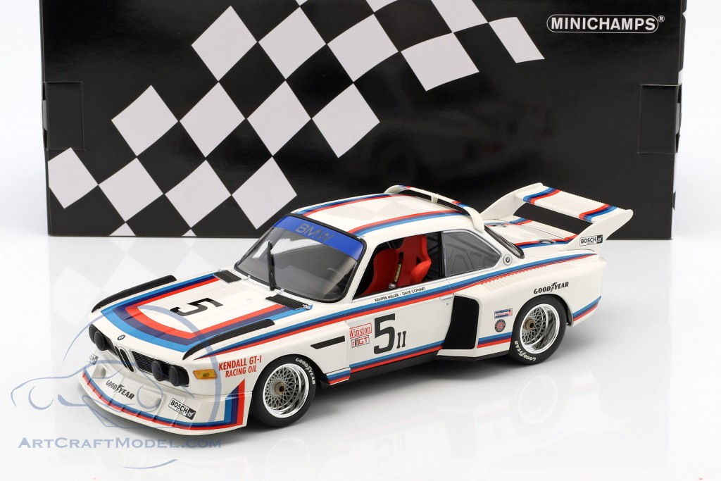 BMW 3.5 CSL #5 6h Watkins Glen 1979 Miller, Cowart