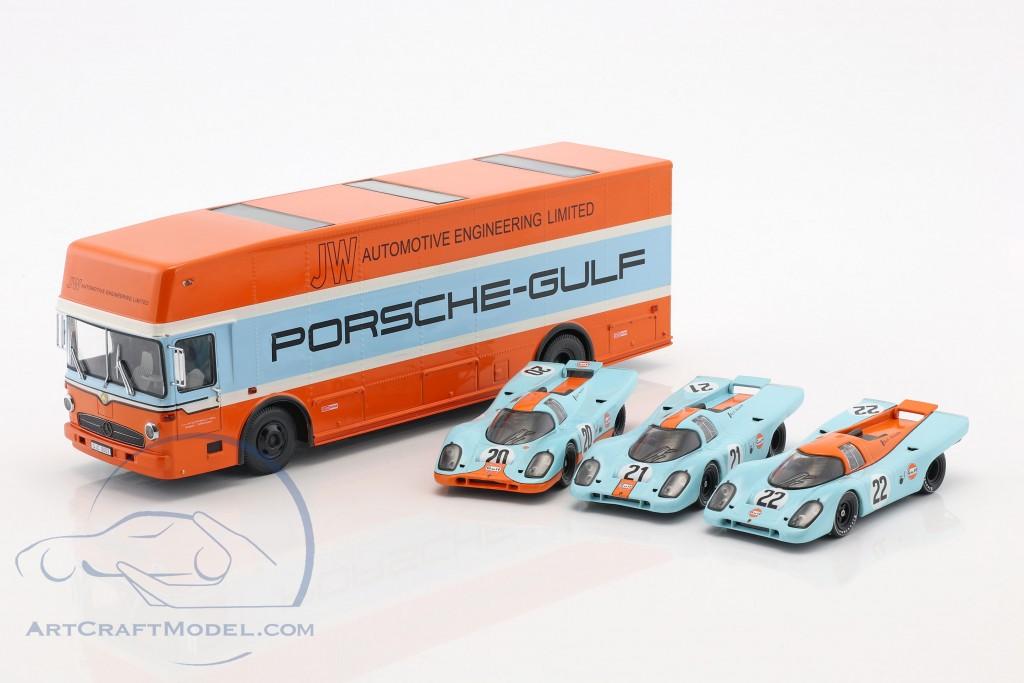 Mercedes-Benz O 317 Porsche Gulf Race Truck year 1968