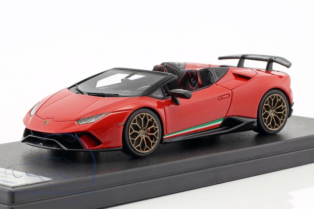 Lamborghini Huracan Performante Spyder Lp 640 4 Year 2017 Mars Red