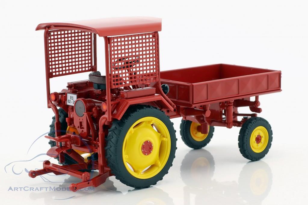 Fortschritt RS09-GT 124 Traktor mit Pritsche rot