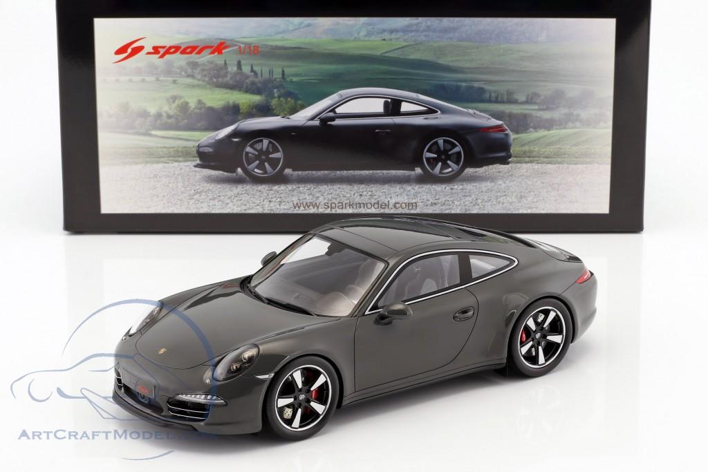 Porsche 911 (991) 50th Anniversary Edition 2013 graphite grau