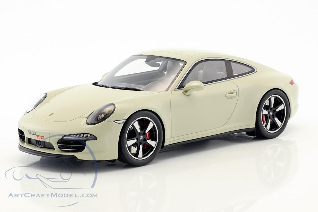 Porsche 911 (991) 50th Anniversary Edition 2013 geyser grau