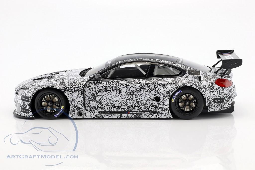 BMW M6 GT3 Presentation Car 24h Spa 2015 weiß / schwarz