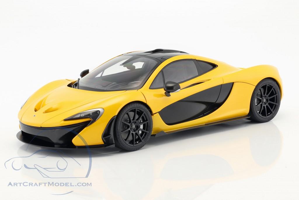 McLaren P1 Baujahr 2013 vulkan gelb
