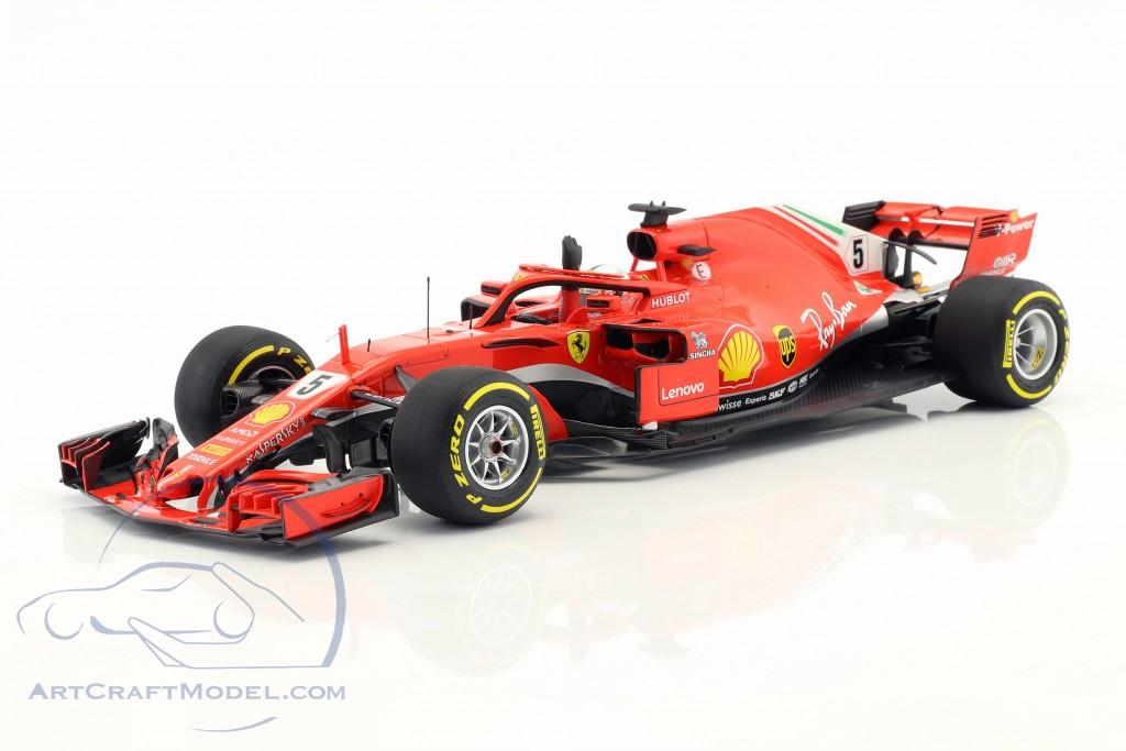 Sebastian Vettel Ferrari SF71H #5 Winner Australien GP Formel 1 2018  BBR