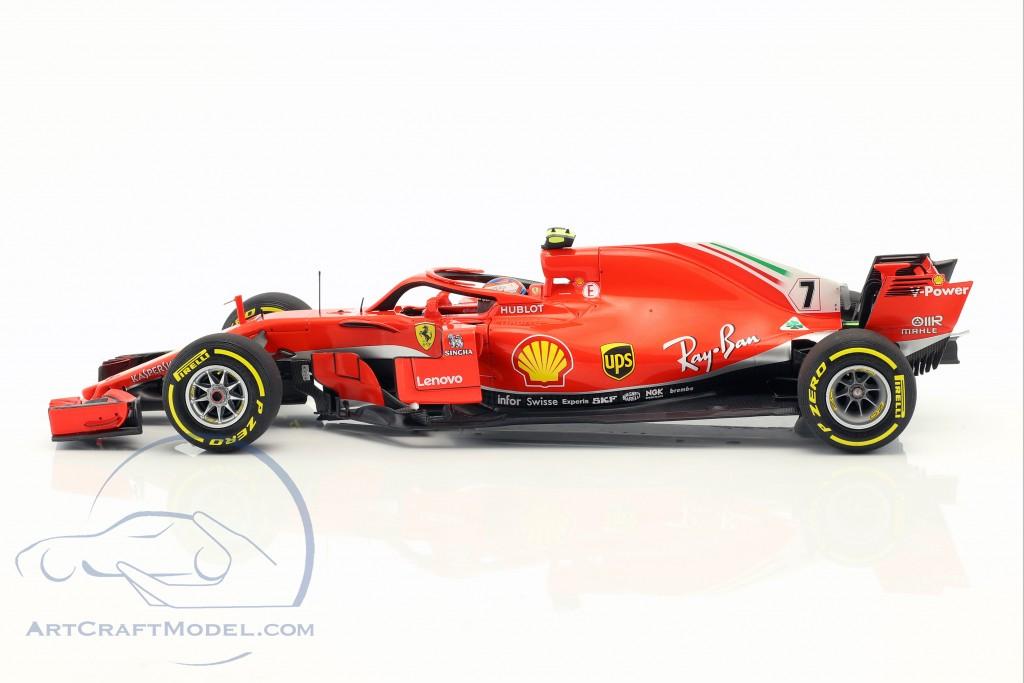 Kimi Räikkönen Ferrari SF71H #7 3rd Australien GP Formel 1 2018  BBR