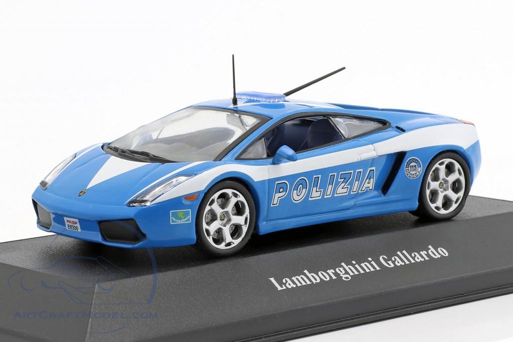 Lamborghini Gallardo Polizei Italien Baujahr 2004 blau / weiß