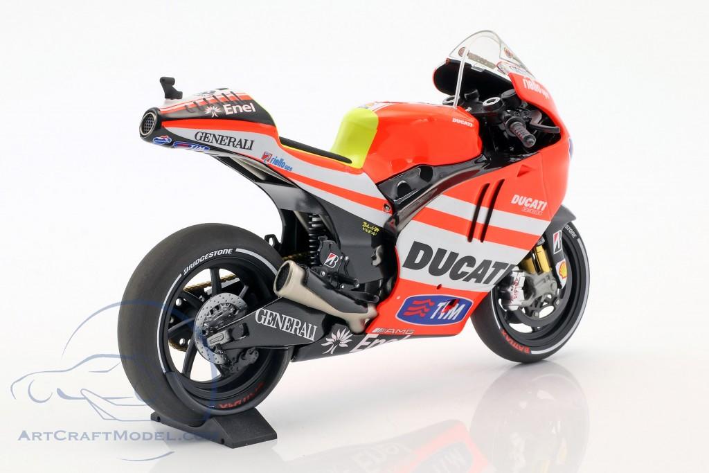 Minichamps 1:12 122111046 DUCATI DESMOSEDICI gp11.1 MotoGP 2011 Valentino Rossi