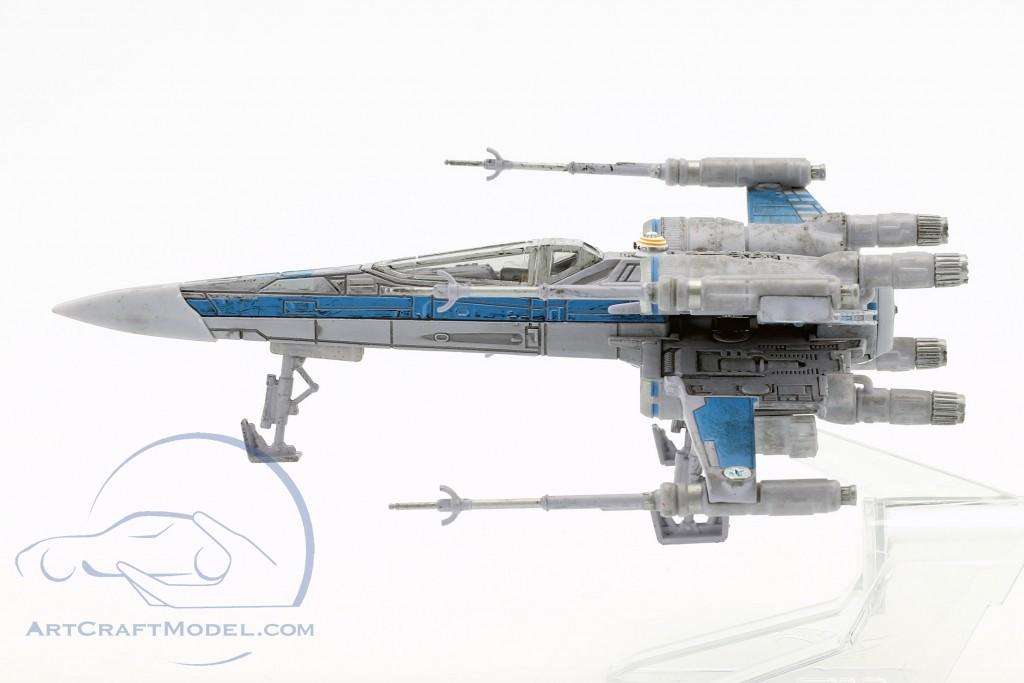 T-70 X-Wing Fighter Star Wars VII - The Force Awakens (2015) grau / blau