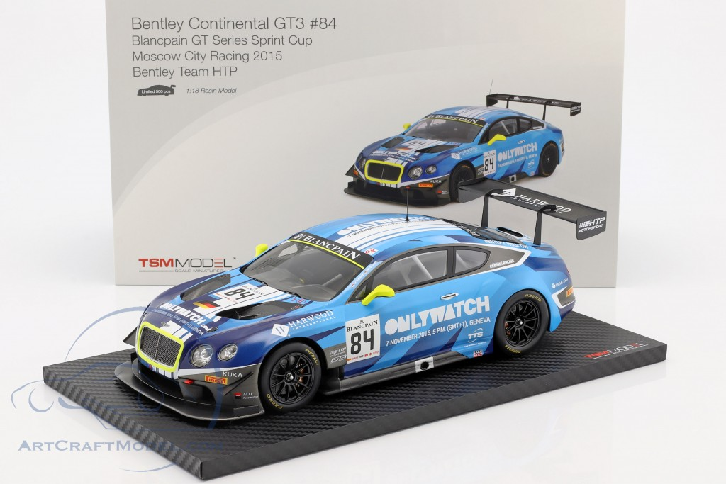 Bentley Continental GT3 #84 Winner Moscow City Racing 2015 Bentley Team HTP