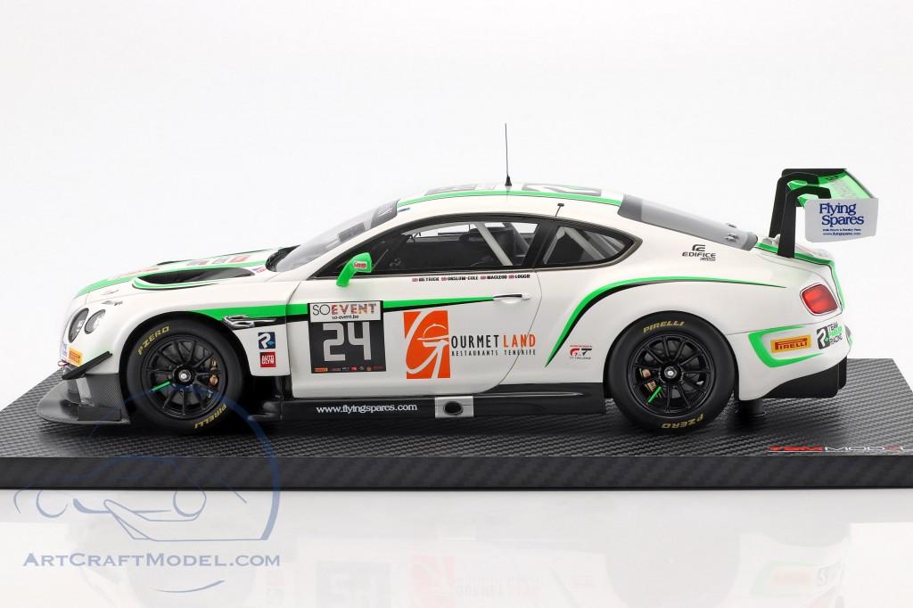 Bentley Continental GT3 #24 24h Spa 2016 Team Parker Racing