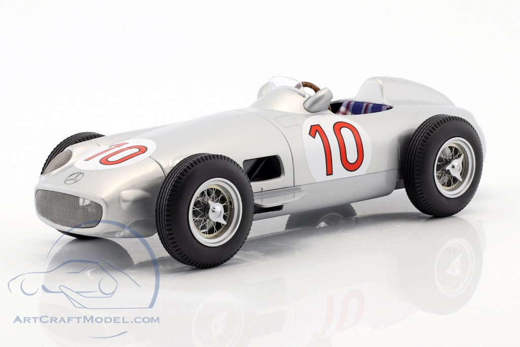 J.M. Fangio Mercedes-Benz W196 #10 Winner Belgien GP World Champion Formel 1 1955