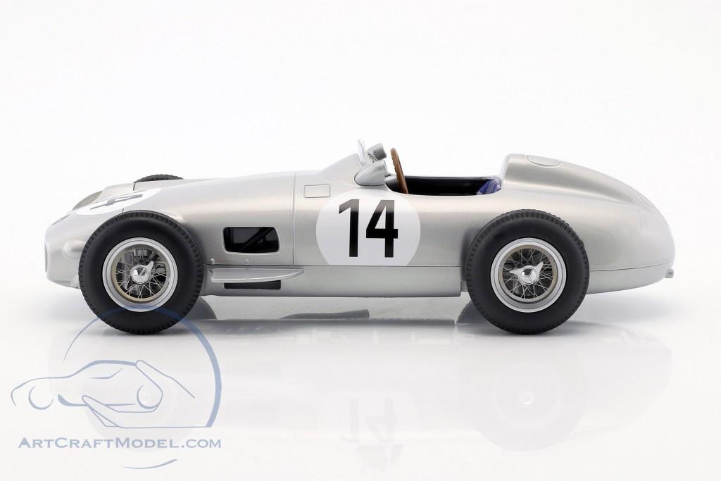 Karl Kling Mercedes-Benz W196 #14 3rd British GP Formel 1 1955
