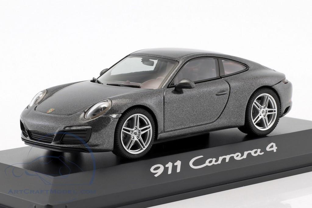1:43 Herpa Porsche 911 991 Carrera 4 Convertible red