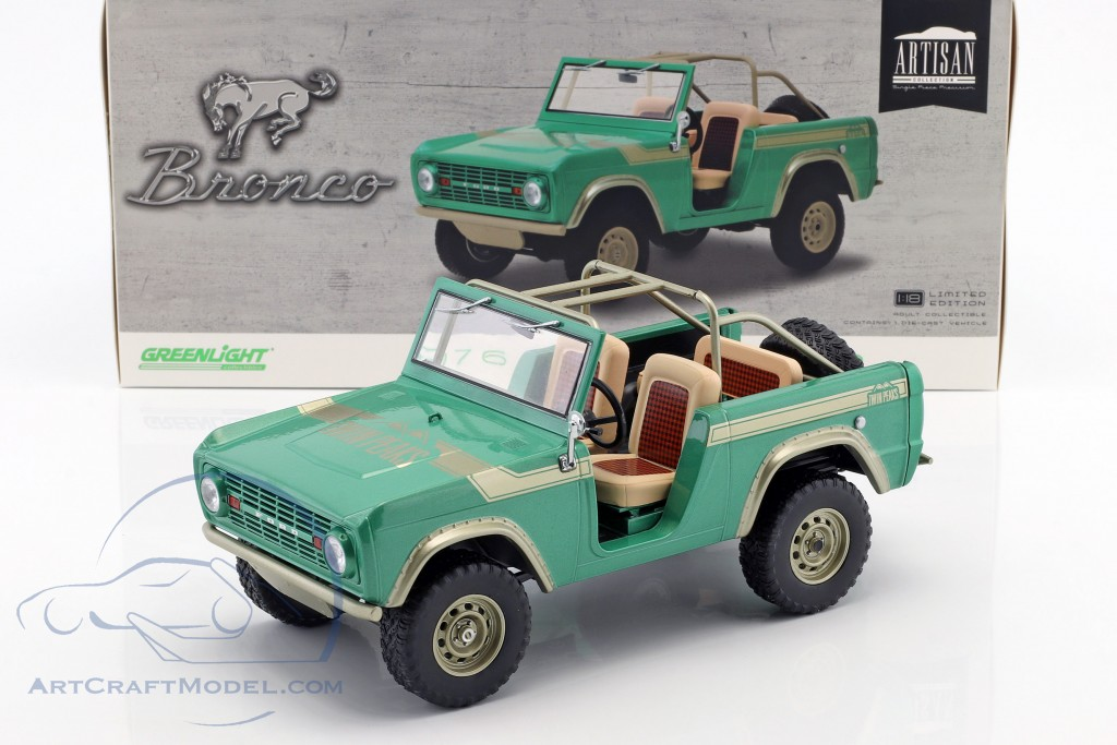 Ford Bronco Baujahr 1976 TV-Show Gas Monkey Garage (seit 2012) grün