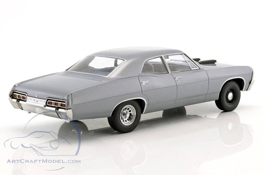 Chevrolet Impala Sport Sedan Baujahr 1967 TV-Serie Das A-Team (1983-87) blaugrau