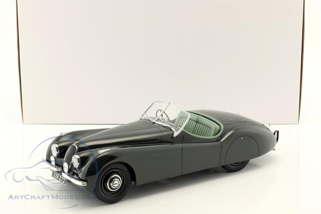 Jaguar XK 120 OTS Baujahr 1948-1954 dunkelgrün