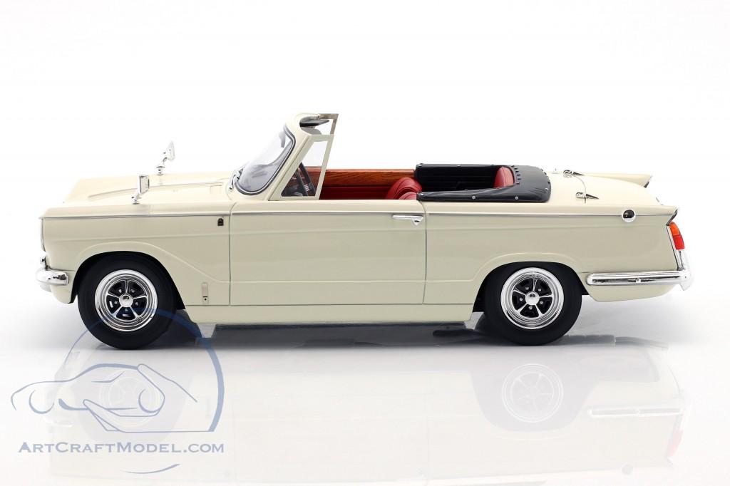 Triumph Vitesse MK2 DHC Baujahr 1962-1968 weiß  Cult Scale