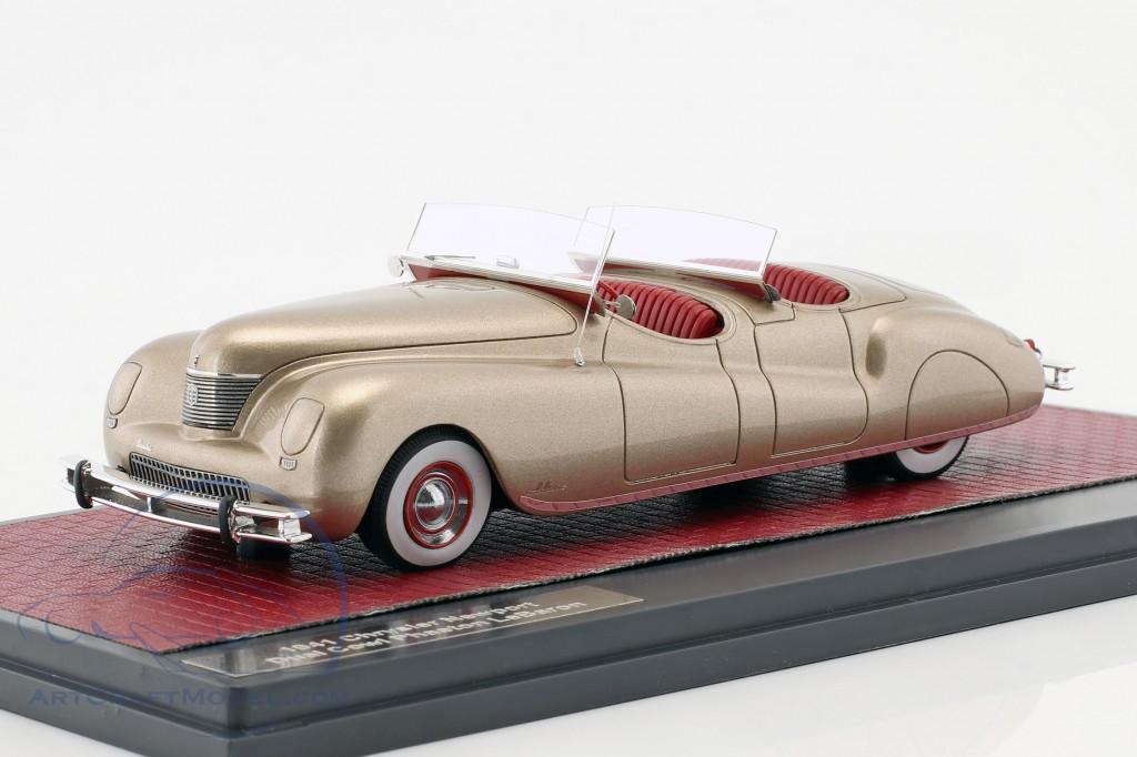 Chrysler Newport Dual Cowl Phaeton LeBaron Baujahr 1941 gold metallic