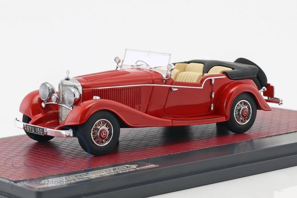 Mercedes-Benz 500K Tourer Mayfair Open Top Baujahr 1934 rot