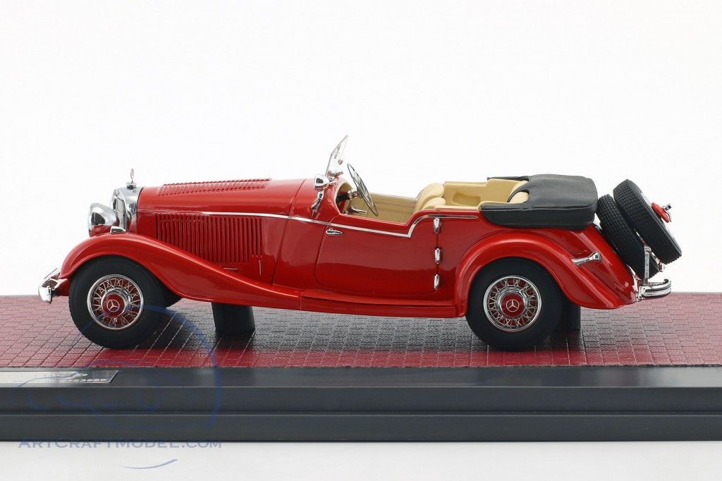 Mercedes-Benz 500K Tourer Mayfair Open Top Baujahr 1934 rot