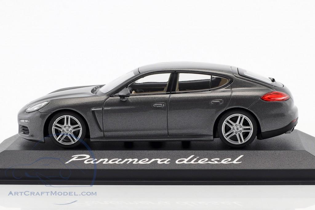 Porsche Panamera Diesel year 2014 agate gray